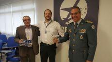 Cmte. Paulo Roberto Alonso (ABEAR), cmte. Aldo Bien (ABRAPAC) e Coronel Alberto Sardilli (PM Ambiental de SP)