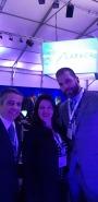 Cmte. Rodrigo Bertacini, Dra. Priscila Dower e Cmte. Daniel Ribas