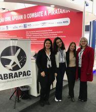 Dra. Priscila Dower, Larrissa Souza, Edneia Reis e Aida Villa