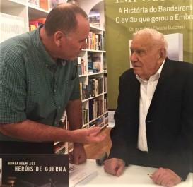 Cmte. Paulo Licati e o Dr. Ozires Silva