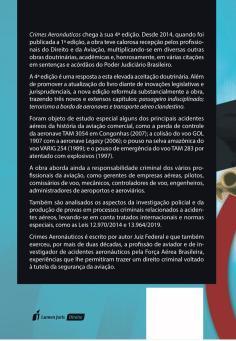Livro Crimes Aeronáuticos - 4ª edição