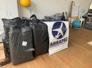 A ABRAPAC doou 100 cobertores e 60 pares de meias